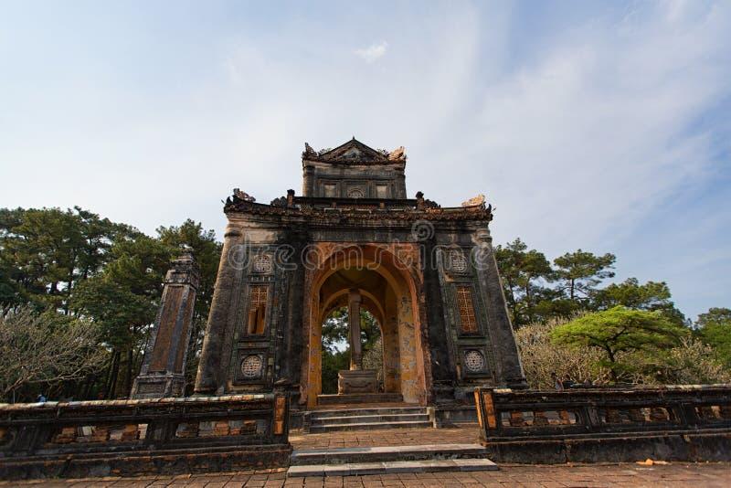 Cesarza Tu Duc grobowiec - odcień, Wietnam obraz stock