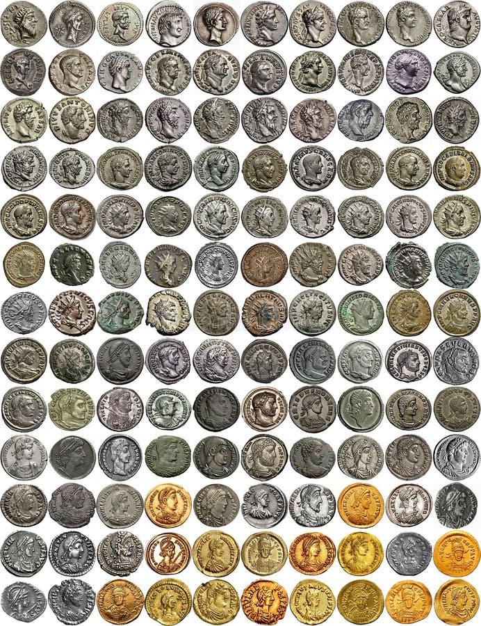 Cesarzi imperium rzymskie zdjęcia royalty free