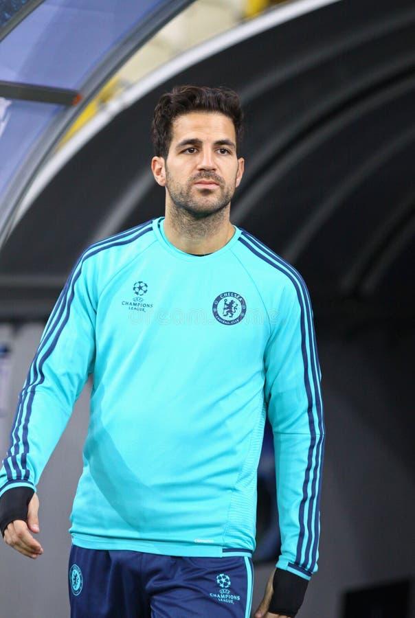 Cesc Fabregas av FC Chelsea arkivbilder