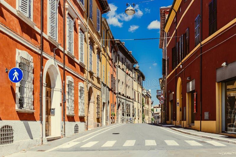 Cesena, Italien stockbild