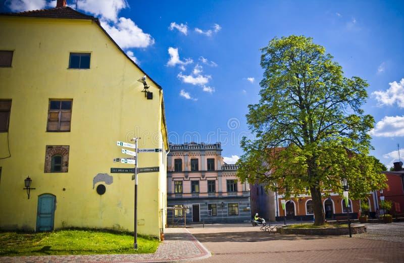 Cesis, Letonia, Europa foto de archivo