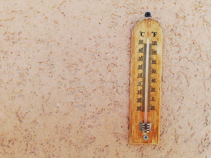 Cesius et Fahrenheit - Ancien appareil photographie stock libre de droits