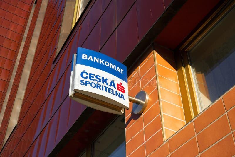 Ceska Sporitelna, financiële instelling binnen Erste-Groep royalty-vrije stock foto's