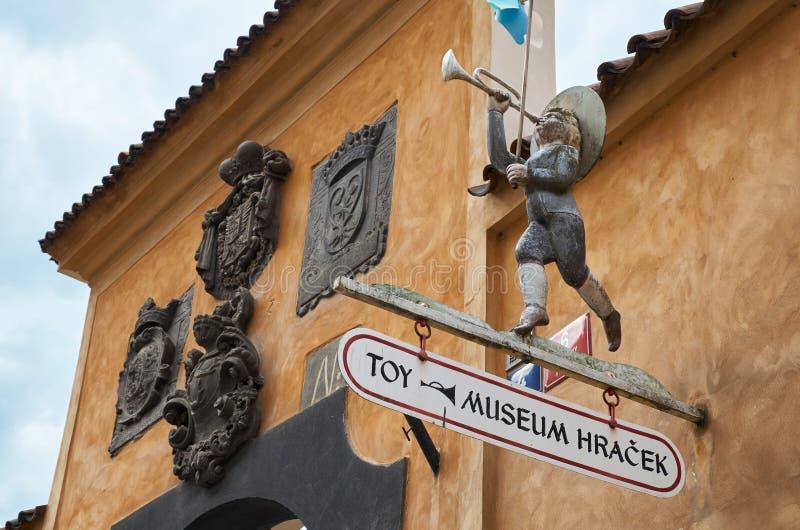 cesky τσεχική πόλης όψη δημοκρατιών krumlov μεσαιωνική παλαιά Μουσείο παιχνιδιών στην Πράγα 13 Ιουνίου 2016 στοκ εικόνες