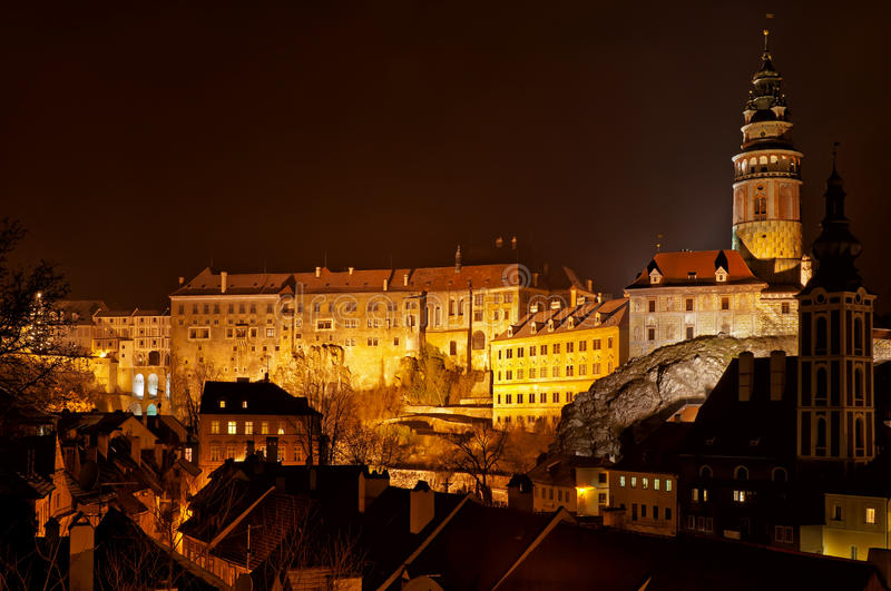 Cesky Krumlov royalty free stock photography