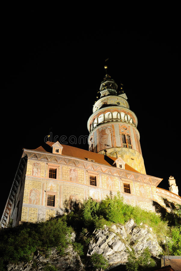 Cesky Krumlov Castle. Historic Krumlov Castle dating from 1240 in Cesky Krumlov, Czech Republic royalty free stock photos