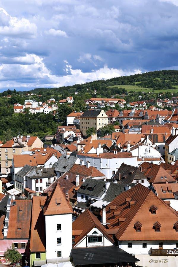 Cesky Krumlov em República Checa imagem de stock royalty free