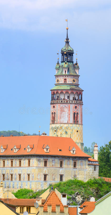 Download Cesky Krumlov / Krumau, View On Castle Tower, UNESCO World Herit Stock Image - Image: 35263981