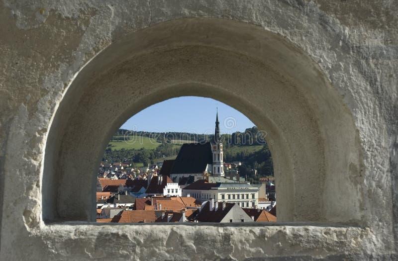 Cesky Krumlov old town