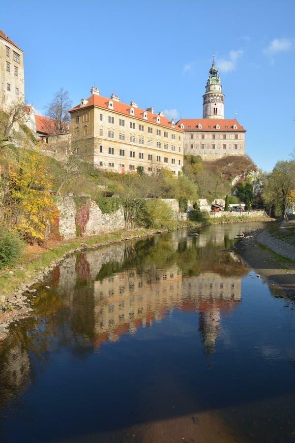 Cesky Krumlov is a UNESCO World Heritage Site. stock photography