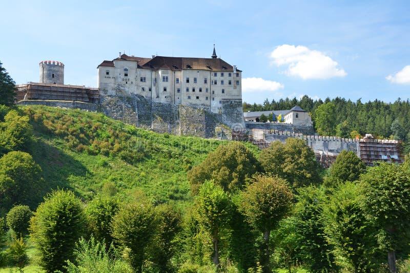 Cesky Sternberk Schloss stockfoto