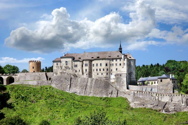 Cesky Sternberk slott, Tjeckien royaltyfri bild