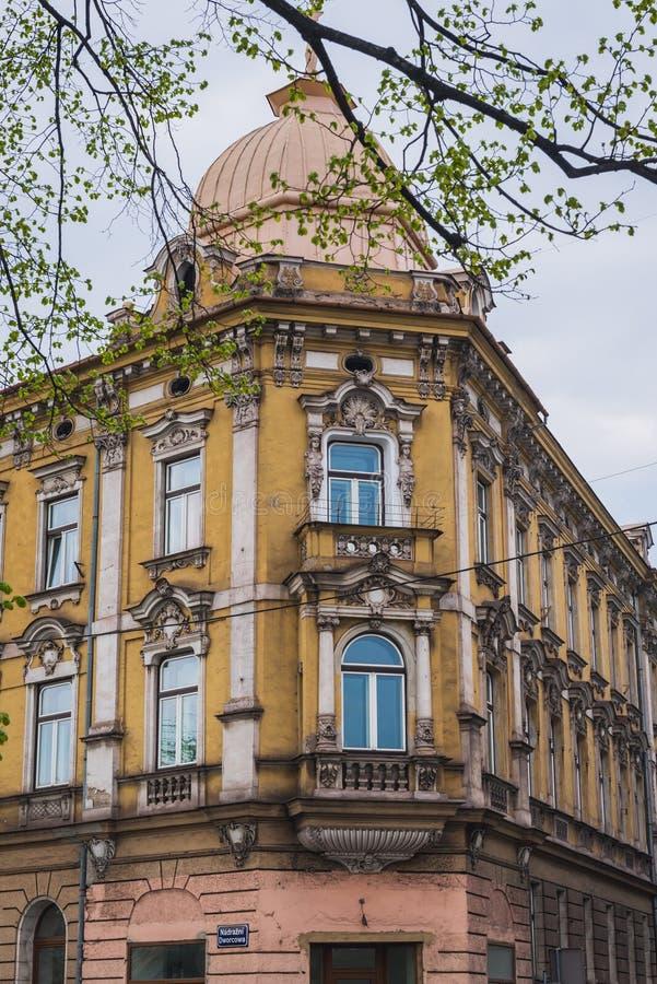 Cesky Tesin dans la République Tchèque images stock