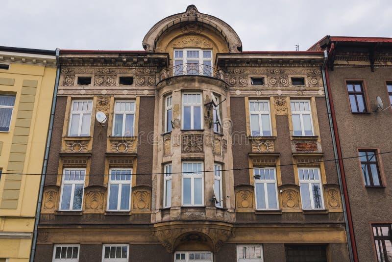 Cesky Tesin en República Checa imagen de archivo libre de regalías