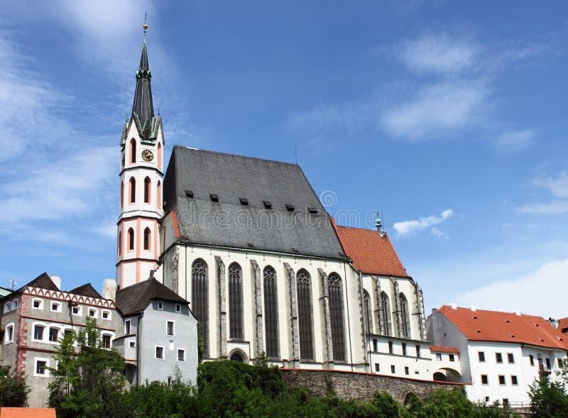 cesky vitus святой krumlov церков стоковые фотографии rf
