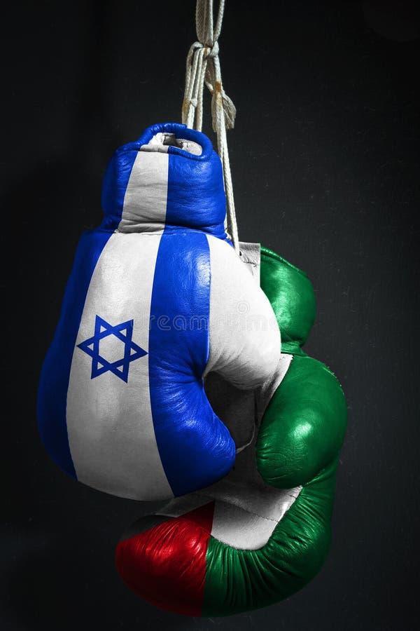 Cessez-le-feu entre l'Israël et la Palestine image libre de droits