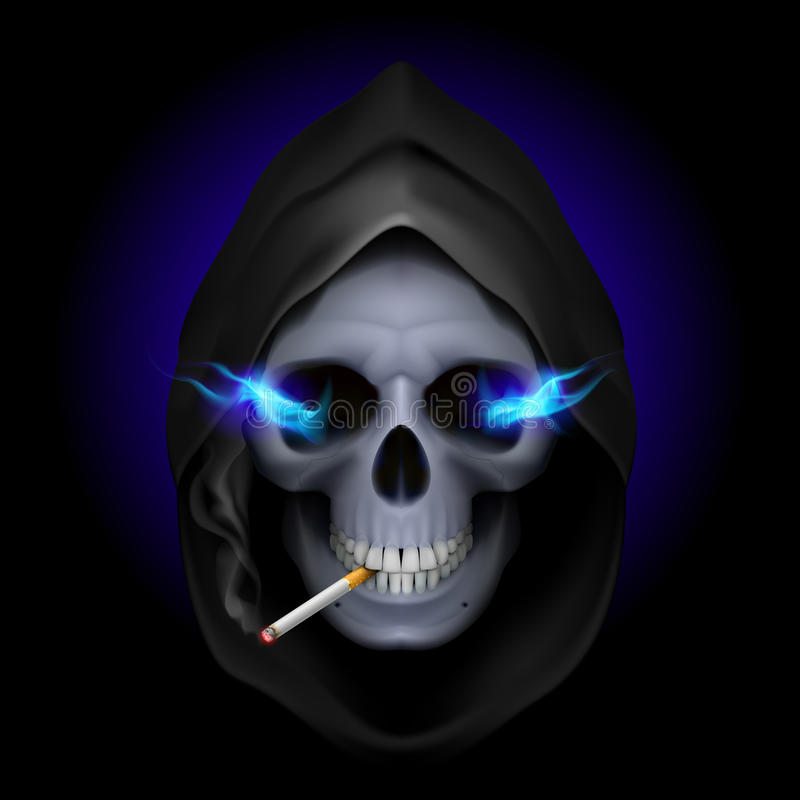Cessez le tabagisme. illustration de vecteur