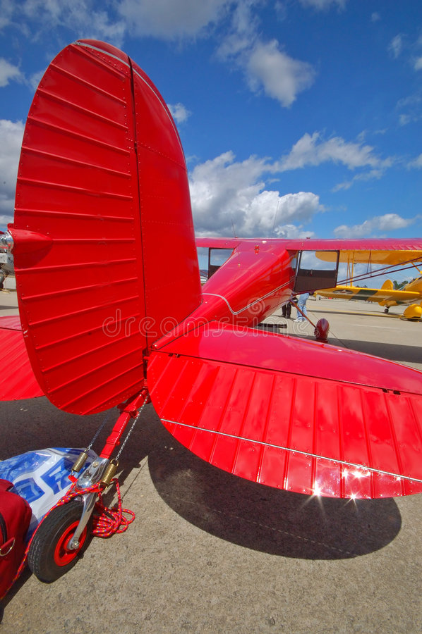 Cessna 140 fotografia royalty free