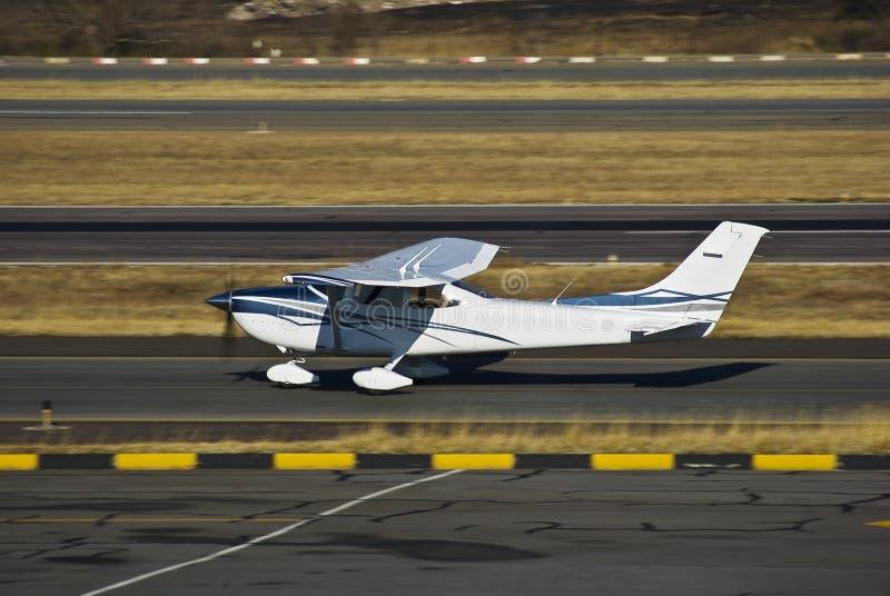 Cessna 182 Skylane - Touch 'n Go stock photo