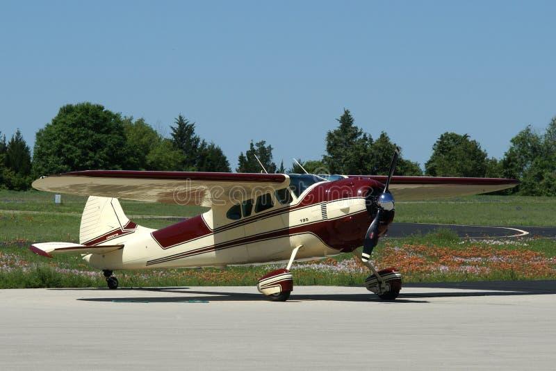Cessna 195 B photographie stock libre de droits