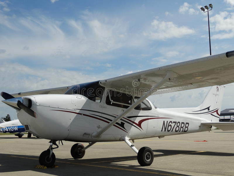 Cessna bonito 172S G1000 Skyhawk imagens de stock