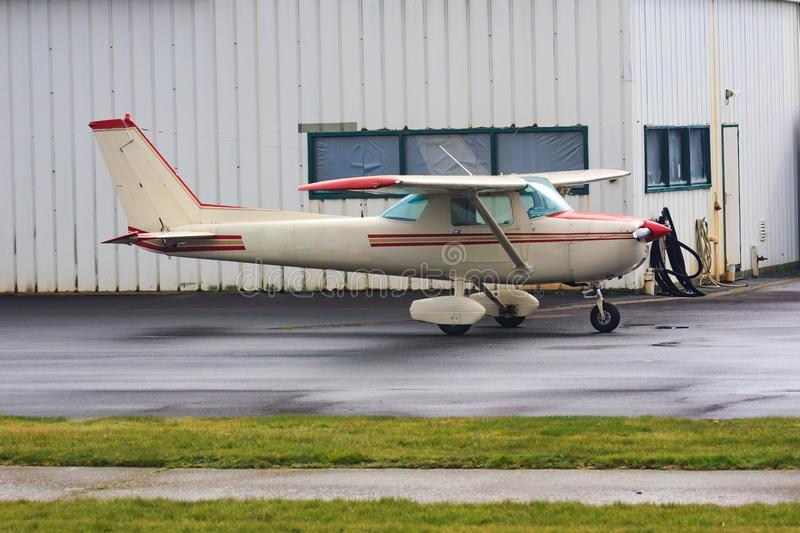 Cessna 150 stock image