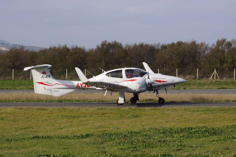 Cessna Flugzeug stockfotografie