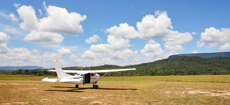 Cessna plane royalty free stock photo