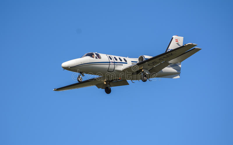 Cessna plane stock photography