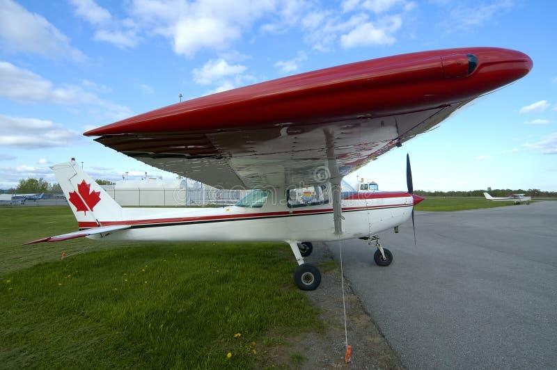 Cessna Side stock image