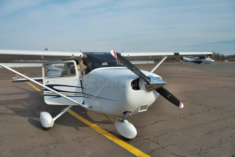 Cessna 172 Skyhawk fotografía de archivo libre de regalías