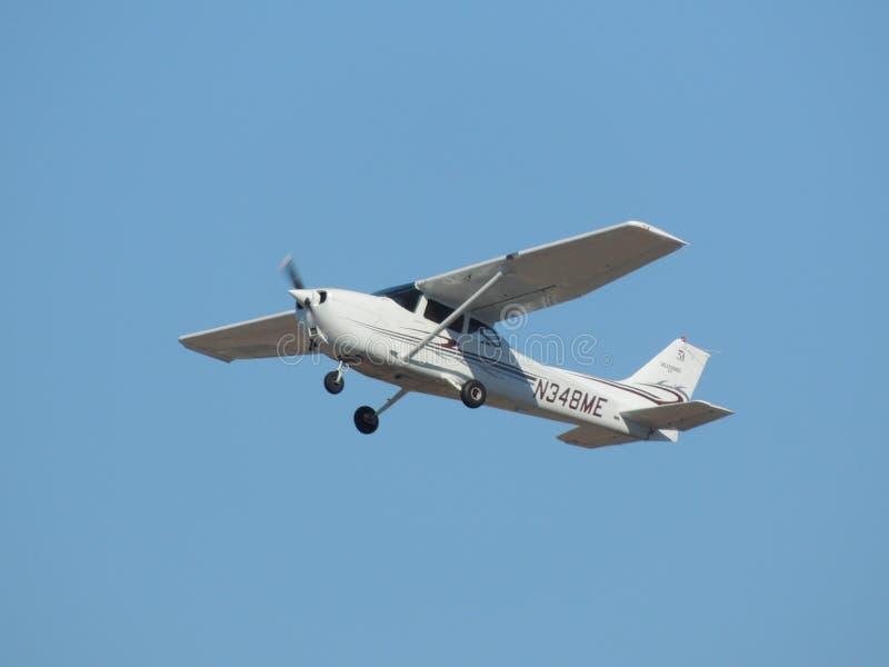 Cessna Skyhawk C172 N348ME imagens de stock