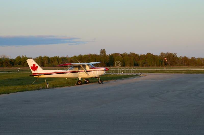 Cessna solo immagine stock libera da diritti