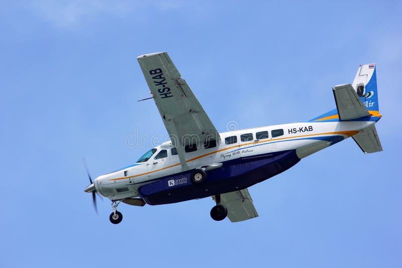 Cessna storslagen husvagn 208B av Kanair royaltyfri bild