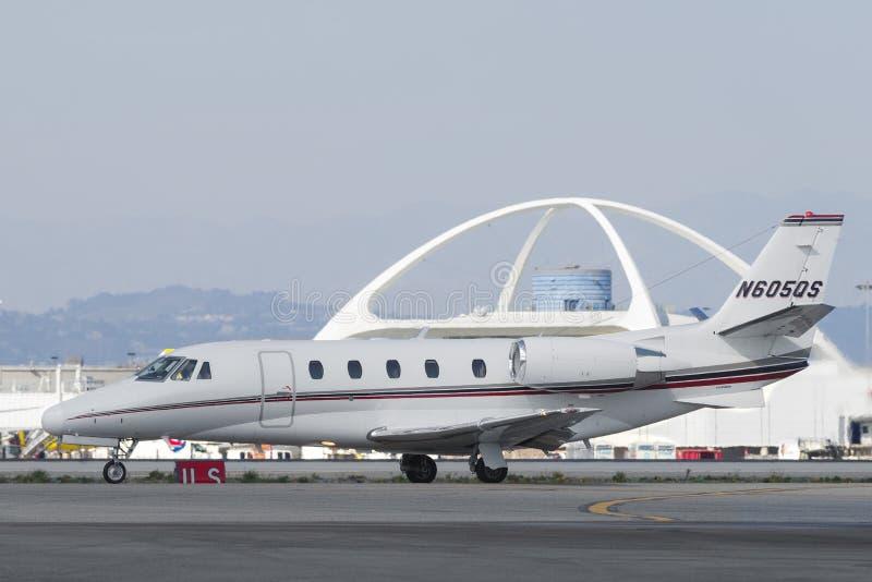 Cessna 2003 560XL em RELAXADO fotos de stock royalty free