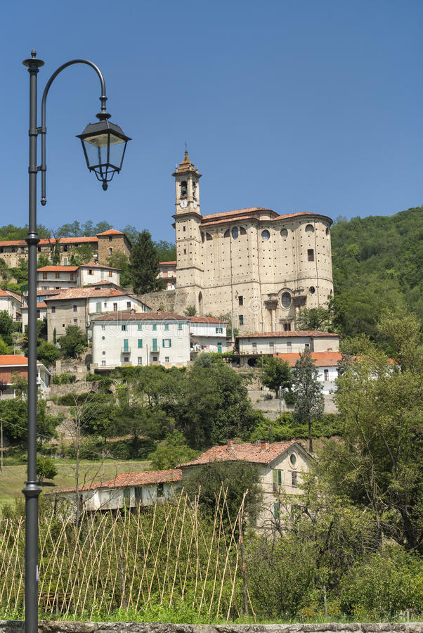 Cessole (Asti, Italy), old village stock images