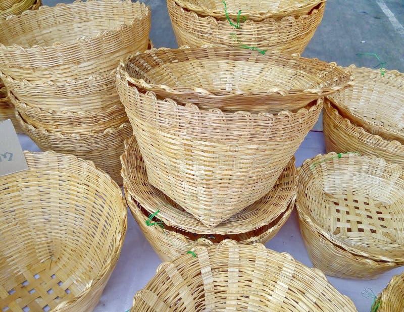 cesta foto de archivo