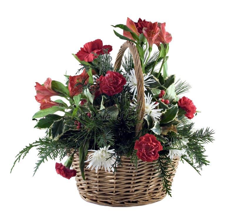 Cesta da flor imagens de stock royalty free