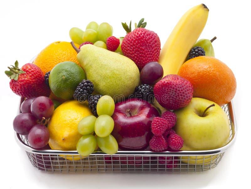 Cesta da fruta fotos de stock