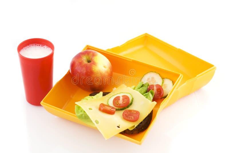 Cesta de comida saudável fotos de stock