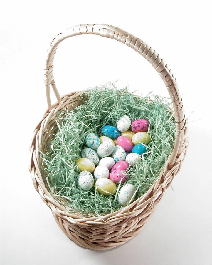 Download Cesta de Easter foto de stock. Imagem de ovos, grama, seasonal - 69382