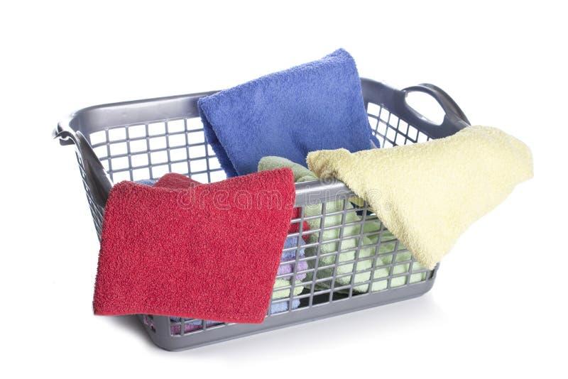 Cesta de lavanderia fotos de stock