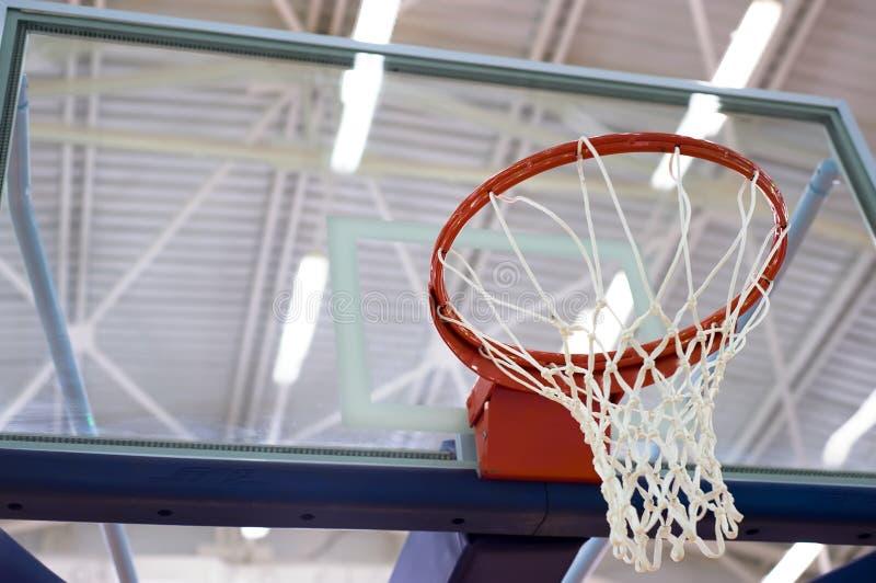 Cesta del baloncesto imagen de archivo libre de regalías