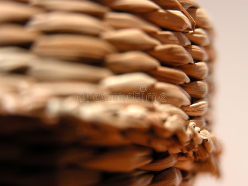 Cesta Hand-made Foto de Stock Royalty Free
