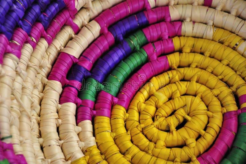 Cesta mexicana imagen de archivo libre de regalías