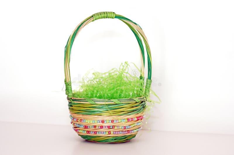 Cestino di Pasqua fotografia stock