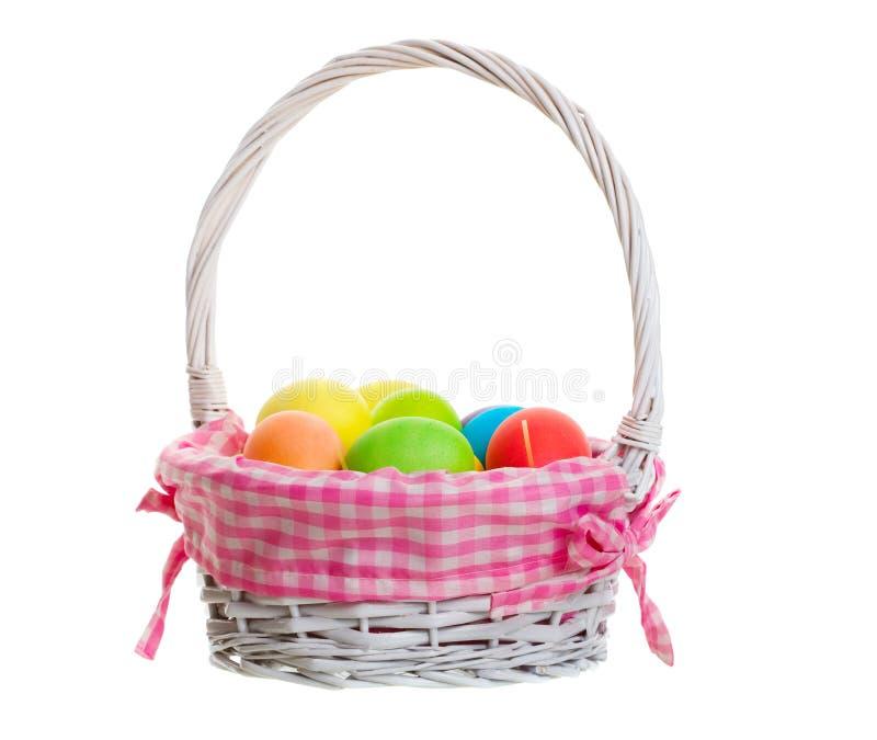 Cestino di Pasqua fotografie stock