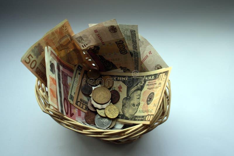 Download Cestino monetario fotografia editoriale. Immagine di vetro - 7320786