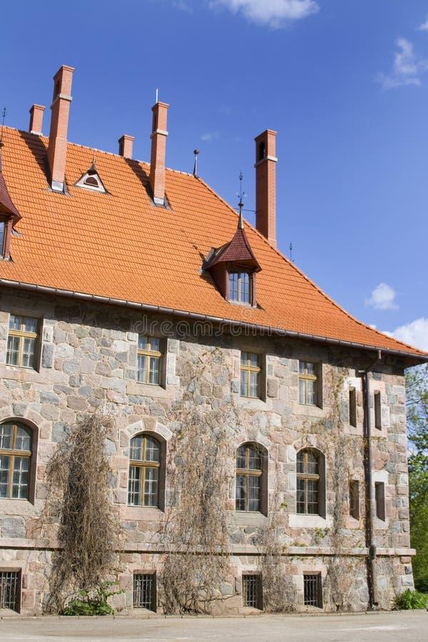 cesvaine pałac fotografia royalty free
