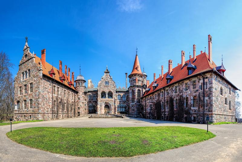 Cesvaine pałac zdjęcie royalty free